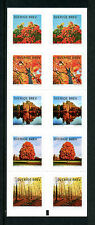 Sweden 2016 MNH Autumn Colours Glow 10v S/A Booklet Trees Stamps