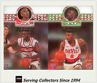 1995 Futera NBL Trading Cards SAMPLE Head To Head Diecut H2H5: Nelson/Thomas