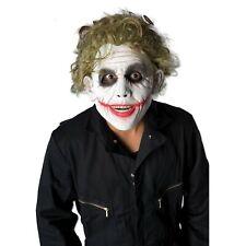 The Joker Wig Adult Batman Movie Fancy Dress Costume Halloween Horror Official
