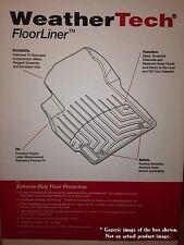 WeatherTech DigitalFit FloorLiners for 2015-2020 Jeep Cherokee (448331-445662)