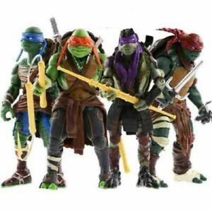 Teenage Mutant Ninja Turtles Movie Set of 4 Action Figures Toys Ninja Figures