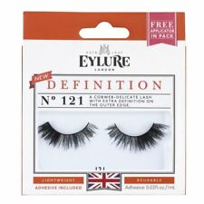 3 X EYLURE Strip Lashes Definition Number 121