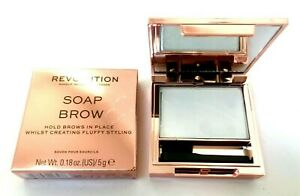 MAKEUP REVOLUTION Soap Brow Styler - Fuller Groomed Feathered Eyebrow Laminate