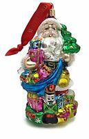 NIB  Waterford Holiday Heirlooms Santa's Bag Ornament