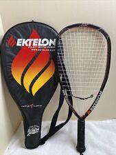 Ektelon Racquetball Racket DPR 2500 LITE Double Power Ring With Case Red Black