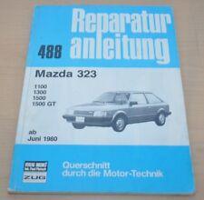 Mazda 323 1100 1300 1500 GT ab Juni 1980 80 Motor Bremse Reparaturanleitung B488