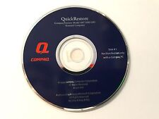 Genuine Compaq Presario Model 1687/1688/1690 Quick Restore Disk