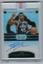 2017-18 Panini Select Signatures Donovan Mitchell Rc On-Card AUTO #22/199 Jazz
