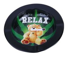 Ted Teddy Bear Weed Cannabis Marijuana Metal Cigarette Cigar Ashtray