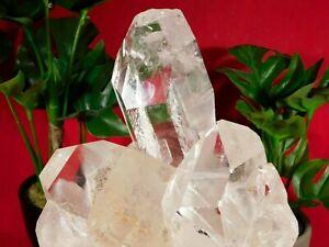 Super Translucent Points! A BIG Quartz Crystal Cluster Arkansas 3644gr