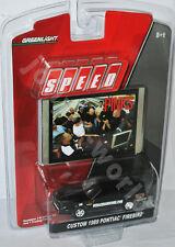 Greenlight Speed - 1989 PONTIAC FIREBIRD - black/graphics - 1:64
