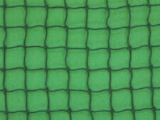 "10' X 8' GOLF IMPACT NET DARK GREEN SQUARE NYLON NETTING 1"" #18 BASEBALL SP"
