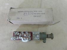 US Willys JEEP MB FORD GPW m201 LIGHT SWITCH ASSY interruttore della luce Interruttore treno