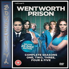 WENTWORTH PRISON - COMPLETE SEASONS 1 2 3 4 & 5  *BRAND NEW DVD BOXSET***