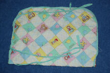 Vintage 1983 Original Cabbage Patch Kids Baby Doll Crib Bedding Quilted Blanket