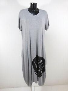 N by NÖR DENMARK Damen Kleid Gr 46 DE / Hellgrau und Neu mit Etikett  ( R 7061 )