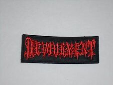 DEVOURMENT EMBROIDERED PATCH