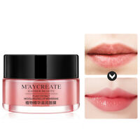 Night Sleep Moistened Lip Balm Bleaching Cream Plumper Nourish Care Lips Mask DP