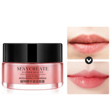 Night Sleep Moistened Lip Balm Bleaching Cream Plumper Nourish Care Lips Mask b