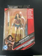 DC Multiverse -- WONDER WOMAN -- Justice League with BAF Steppenwolf - Good Cond