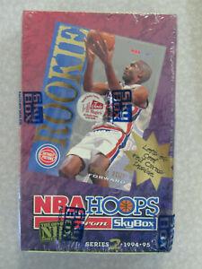 FACTORY SEALED 1994-95 SkyBox NBA Hoops Basketball Card Hobby Box (36 Packs)
