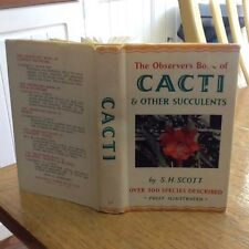 Observers Book Of Cacti 1965 -