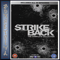 STRIKE BACK - COMPLETE SERIES  1 2 3 4 & 5 *BRAND NEW DVD BOXSET***