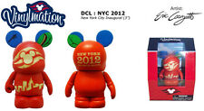 "DISNEY CRUISE LINE Vinylmation APPLE NEW YORK CITY INAUGURAL DCL 3"" NYC 2012 NIB"