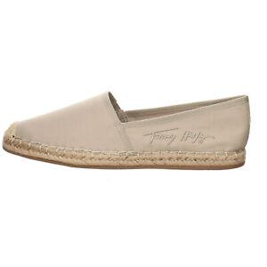 Tommy Hilfiger Signature Espadrille Damen Schuhe Freizeitschuhe Textil