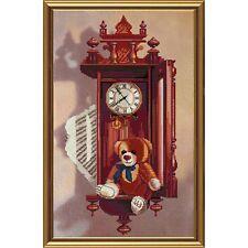 Nova Sloboda  CB3024  Horloge antique  Broderie  Point de croix compté