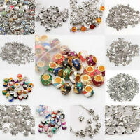 Wholesale Antique Mixed Tibet Silver Beads Spacer Jewelry Making Bracelet DIY AU