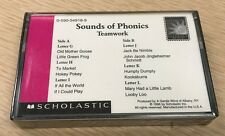 SCHOLASTIC Sounds of Phonics NEW Teamwork 1996 Cassette FREE SHIPPING
