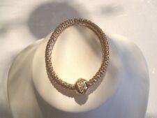1 Bracelet chamballant-Cuivré-sur chaîne palmier - bracelet élastique-Neuf