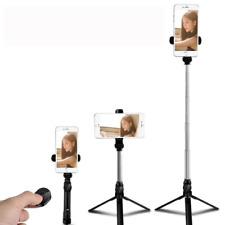 Versatile Phone TRIPOD Stand Selfie Stick Combo vertical or horizontal W/ REMOTE
