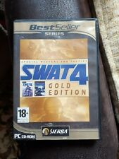 SWAT 4 -- Gold Edition game & Stechkov syndicate expansion pack L@@K!!!!