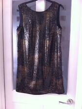 Next Ladies Sequin Dress Size 12 Bnwt