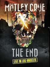 Mötley Crüe - The End – Live In Los Angeles (NEW CD, DVD, BLU-RAY, BOOK)