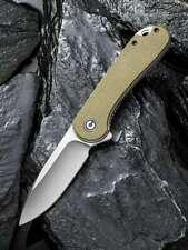 WE Knife CIVIVI ELEMENTUM C907S Olive Micarta Messer Flipper D2 Stahl