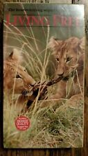 Living Free - The Heartwarming Sequel to Born Free 1993 VHS lion cubs Africa NEW