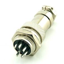 New 7Pin 16mm Screw Type Socket Connector Aviation Plug Female & Male GX16-7