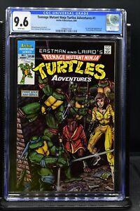 Teenage Mutant Ninja Turtles Adventures #1 CGC 9.6 Archie Comics 1988 TMNT RARE