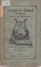 Frank: Geschichte der Tonkunst  EA 1863