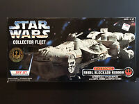 Star Wars Collector Fleet Electronic REBEL BLOCKADE RUNNER 1996 NEW in box