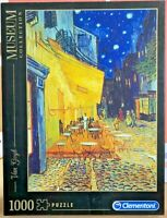 Clementoni-Van Gogh-Cafe Terrace at Night-1000 Pieces Jigsaw Puzzles-Games