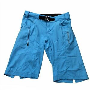 Bonrtrager Tario Mountain Cycling Shorts lightweight Semifitted Small Blue