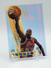 Michael Jordan 1996-97 Bowman's Best Shots Insert # BS6 Chicago Bulls Acetate