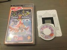 INVIZIMALS pour PSP---- lot de 2 jeux Invizimals 1 Et 2