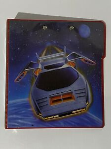 🔥 Vintage 80's 🔥SUPER RARE FAST LINE EDITION - MEAD TRAPPER KEEPER MOTORCYCLE