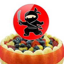 Sneaky Ninja Attacks Cake Top Topper