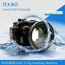 Meikon G1X II Waterproof Housing Waterproof Case for Canon G1X II camera WP-DC53